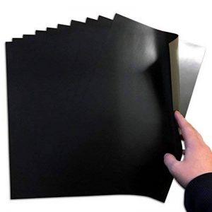 10 feuilles magnétiques A4 0,5 mm/Jackdaw Express Lot de Craft-résistant, fin & Flexible de la marque The Fridge Magnet Shop image 0 produit