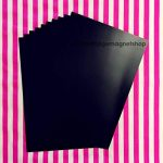 10 feuilles magnétiques A4 0,5 mm/Jackdaw Express Lot de Craft-résistant, fin & Flexible de la marque The Fridge Magnet Shop image 1 produit