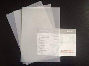100 Feuilles de papier transparent blanc dIN a4 200 g/m ²-très bonne qualité de la marque Zanders T2000 image 0 produit