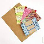 100 feuilles papier kraft - Papier Kraft DIN A4 280 g/m² Nature Carton de grande qualité Idéal pour travaux manuels, 3D Marron de la marque Partycards image 2 produit