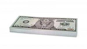 100 x $100 DOLLAR Cashbricks® billets d'argent fictif de la marque Cashbricks® image 0 produit