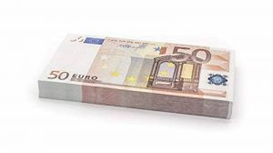 100 x €50 EURO Cashbricks® billets d'argent fictif (diminués jusqu'à 75% de la taille originale) de la marque Cashbricks® image 0 produit