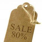 100pcs Papier Kraft Brun Étiquettes de Prix Soirée Mariage Étiquette Cartes-cadeaux de la marque Micro Trader image 1 produit