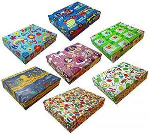 12plié Handy Feuilles de papier cadeau pour enfant fille et garçon pour cadeaux d'anniversaire de la marque How 2 Wrap a Present.com image 0 produit