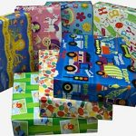 12plié Handy Feuilles de papier cadeau pour enfant fille et garçon pour cadeaux d'anniversaire de la marque How 2 Wrap a Present.com image 1 produit