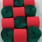 12 Violet Serpentins de papier crepon de qualite 45mm x 10metres. 14 Couleurs Vives de la marque Clikkabox image 3 produit