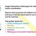 120g/m² A4Coloraction Ramette 500feuilles papier Copieur Imprimante teinté x 250feuilles–Ivoire pâle de la marque Coloraction 120 gsm image 4 produit