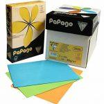 120g/m² A4PAPAGO teinté imprimante copieur X 250feuilles de papier–Crème de la marque Papago image 1 produit