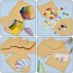 120 Pièces Mini Enveloppes Kraft Enveloppes de Cartes-Cadeaux Enveloppes de Carte de Visite de Mariage Petites Enveloppes Classique Rabat, 4,4 x 3 Pouces de la marque Sumind image 2 produit