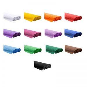 13Rouleaux de Papier crépon, mélange de 13couleurs Étanche Imperméable Marque Creleo® de la marque Trendstyle Creativ GmbH image 0 produit