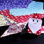 144 Feuilles Papier Origami Origami Kit 6 Par 6 Pouces, 12 Couleurs Et Motifs Différents de la marque eBoot image 4 produit