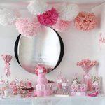 """15pcs papier fleur pompon boule à suspendre 6"""",10"""",12"""" rose décor mariage fête de la marque MAKFORT image 1 produit"""