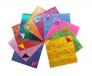 15X15 cm Papier à double face Papier origami pliable - 50 pièces de la marque Black Temptation image 0 produit