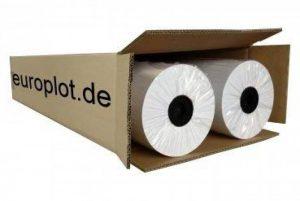 2rouleaux de papier traceur | 90g/m², 61,0cm (610mm) Large, 150m de long, cad, A0non-couché de la marque Europlot image 0 produit