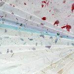 20Papier mûrier Taille Feuille A4Motif Craft fabriqué à la main Art Soie Japon Origami Washi Wholesale Bulk vente Unryu Elle Thaïlande Products Fabrication de cartes de la marque MulberryPaperStock image 3 produit