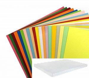 200FeuillesA4avec20couleurs assorties Dalton Manor - Papier 80g/m² - Dans une boîte de rangement Weston Papeterie - Scrapbooking - Carte. de la marque DALTON MANOR image 0 produit