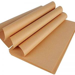 200 Feuilles A4 Papier Kraft Naturel Marron Recyclé 70g/Mètre Carré pour Imprimer Dessiner Emballer Carton de la marque DEOMOR image 0 produit