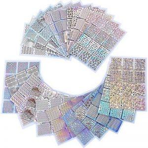 288 Pièces 96 Designs Autocollants à Ongles Stencils à Ongles pour Nail Art Design, 24 Feuilles de la marque eBoot image 0 produit