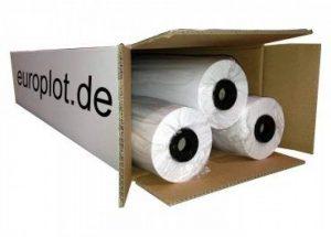 3 Rouleaux de traçage non couché/80 g/m ², 61–86,4 cm (610 mm x 90 m/l cAO non revêtu de la marque Europlot image 0 produit