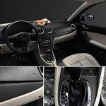 30 cm x 127 cm 3D Fiber De Carbone Vinyle Voiture Twill Wrap Feuille Rouleau Film Autocollants De Voiture Stickers pour Moto Voiture Automobiles Styling Accessoires de la marque Zantec image 4 produit
