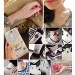 30 Feuilles Petit Mignon Sexy Temporaire Tatouage Fille Corps Art Transfert Autocollants pour la Fête de Mariage Datant Shopping de la marque AlleGt image 1 produit