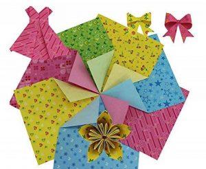 360 Pieces de Origami Craft Paper 15x15cm de la marque Black Temptation image 0 produit