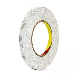 3M Ruban Adhésif Double Face,HTINAC Haute Performance Ruban Adhésif Transparent pour la Maison,Bureau,Décoration,Emballage(50m x 9 mm) de la marque HTINAC image 0 produit