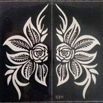 4pochoirs Sheets Tattoo Body Art Mehndi henné Designs Kit Taj pour körpet peints de la marque Beyond Paradise image 4 produit