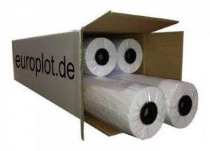 4 Roulettes traçage/90 g/m ² rouleau de 91,4 cm (914 mm x 90 m cAO a0 non couché de la marque Europlot image 0 produit