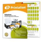 400 Étiquettes autocollantes sur 105 x148 a4 5 mm (blanc) de la marque Printation image 2 produit