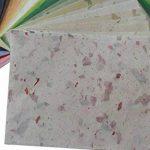 478,5x câble Feuille de papier mûrier Motif Craft fabriqué à la main Art Soie Japon Origami Washi Wholesale Bulk vente Unryu Elle Thaïlande Products Fabrication de cartes... de la marque MulberryPaperStock image 3 produit