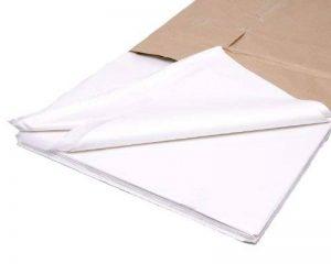 480 feuilles de Papier soie sans acide Blanc 45,7 x 71,1 cm de la marque Bag It Plastics image 0 produit