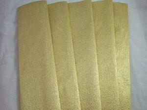 5Aluminium Or Papier crépon se replie. 70g/m². 50cm x 150cm de la marque Clikkabox Crepe image 0 produit