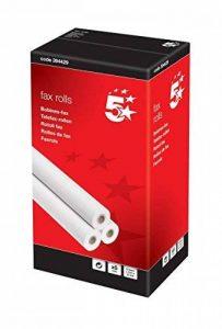 5 Star Office 394429 Lot de 6 rouleaux de papier pour fax 210 x 15 m x 12,7 mm (Import Allemagne) de la marque 5 Star image 0 produit