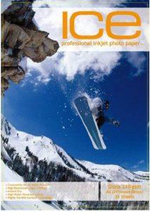 50feuilles Glace A3210g/m² Papier photo brillant/brillant de la marque ICE image 0 produit