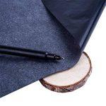 50 Pièces Feuilles Tatouage Feuille de Transfert de Carbone pour Bois, Papier, Toile (9 x 13 Pouces) de la marque Outus image 3 produit