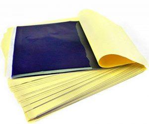 50 x FEUILLES Papiers Pour TATOUAGE TATTOO Transfert Stencil Thermique Carbon Kit Art de la marque Micro Trader image 0 produit