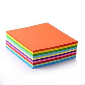 500feuilles faltpapier coloré Origami 15* 15cm, 70gsm de la marque EAST-WEST Trading GmbH image 0 produit