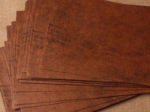 50x Enveloppes format 16x 11cm en papier kraft 110g/m², de style vintage de la marque C.X.Y. image 0 produit