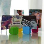 6 cadres photo colorés cubiques pour papier photo 5 x 7 cm Fuji Instax Mini 9, 26, 8, 7 Instant Camera de la marque Polaroid image 3 produit