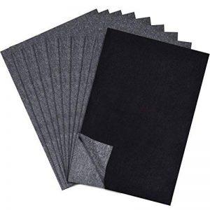 60 Feuilles Papier de Transfert de Carbone Papier de Traçage pour le Bois, Papier, Toile(8.5 par 11 Pouces) de la marque Outus image 0 produit