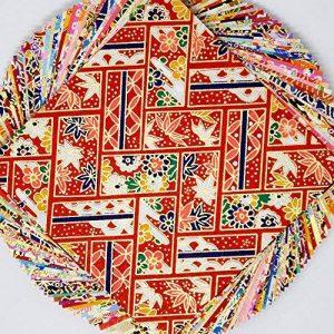 9,9cm Yuzen Washi papier Japon 50sheets Y00360 de la marque Japanese Paper and Crafts image 0 produit