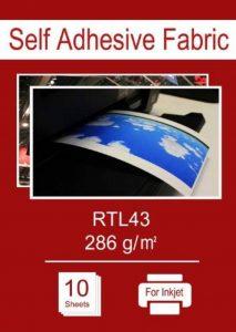 A4X 10sheets–Tissu adhésif autocollant pour imprimantes jet d'encre, amovible et repositionnable de la marque Altiel image 0 produit