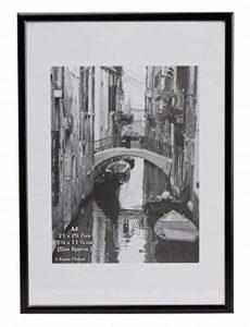 A4MARBLKNG Black Backloader A4 Certificate / Photo / Picture Frame Non Glass de la marque The Photo Album Company image 0 produit