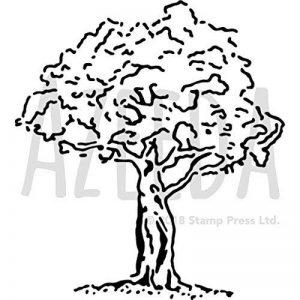 A5 'Arbre' pochoir mural (WS00014855) de la marque Azeeda image 0 produit