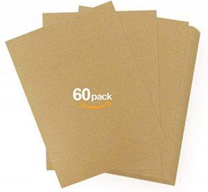Absofine 60Feuilles A4Papier Kraft recyclé 170g Arts & Crafts Fournitures de Bureau Papier D'Impression de la marque Absofine image 0 produit