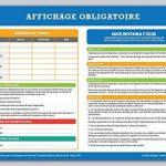 Affichage obligatoire - Code du travail - plastifié et effaçable - édition 2018 de la marque La petite fabrique image 3 produit