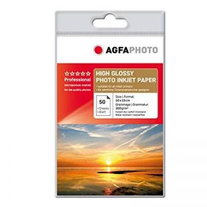 Agfa Lot de 50 feuilles de papier photo 10 x 15 cm 260 g (Import Allemagne) de la marque Agfaphoto image 0 produit