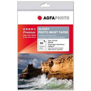Agfa Lot de 50 feuilles de papier photo A4 240 g (Import Allemagne) de la marque Agfaphoto image 0 produit