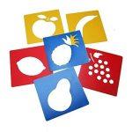 Ailiebhaus Pochoir de Dessin en Plastique Gabarits de Peinture pochoir bullet journal lettres (13 x13 cm) de la marque Ailiebhaus image 1 produit